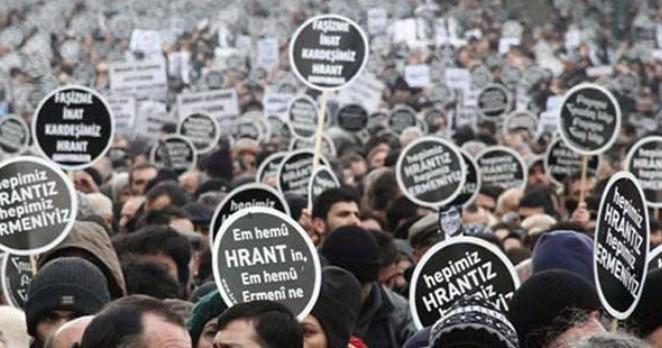 Hrant Dink katledilişinin 12'nci yılında anıldı