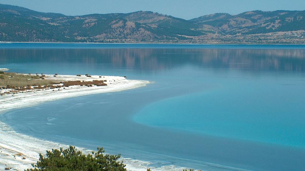 Erdoğan açıkladı: Salda Gölü'ne 300 bin metre kare millet bahçesi