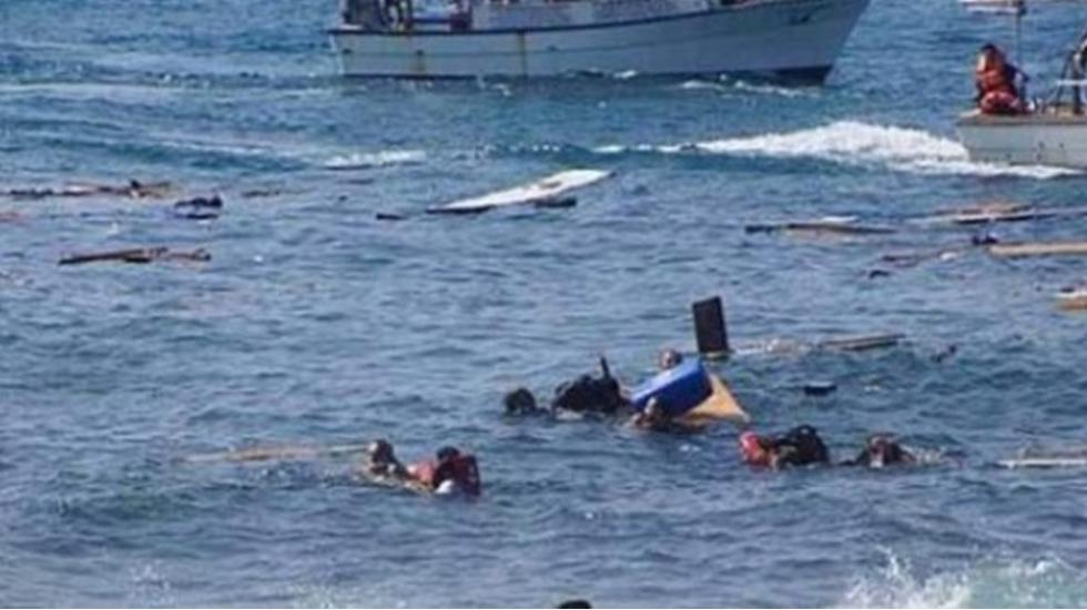 Akdeniz'de facia: Mülteci botu battı, 117 ölü!
