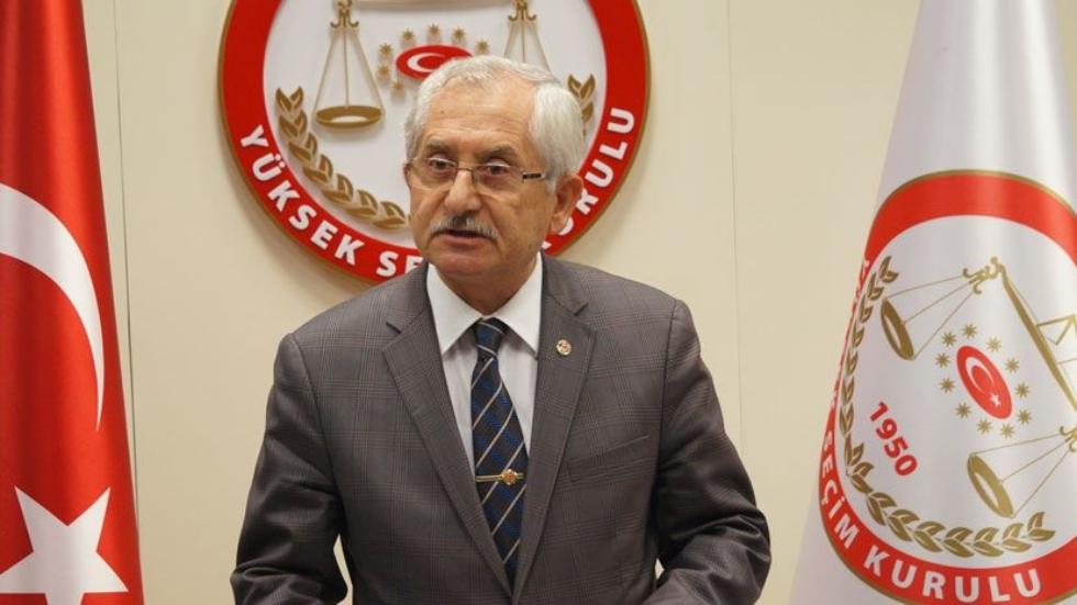 YSK Başkanı Güven'den 'ölü' ve 'sahte' seçmen açıklaması