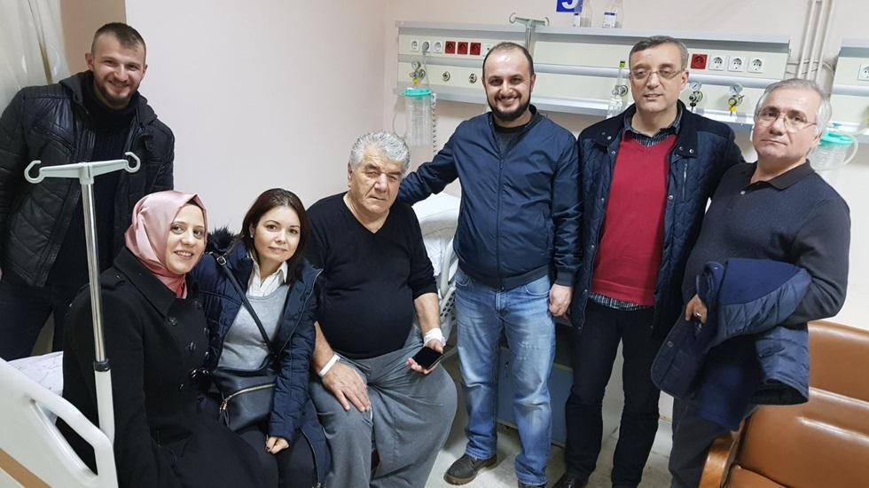 CHP Mehmet Ali Paşa Komitesinden hasta ziyaretleri