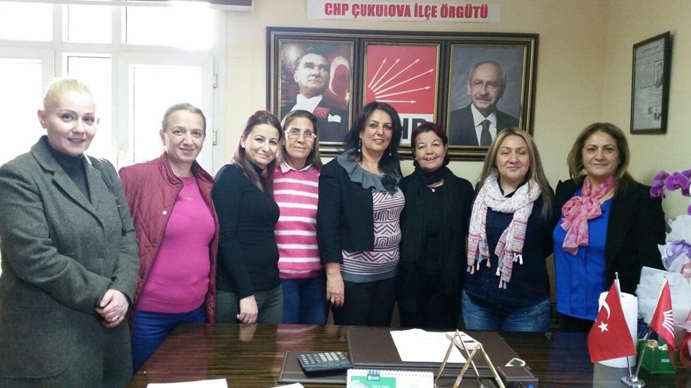 CHP Çukurova Kadın Kolları 'görev dağılımı' yaptı