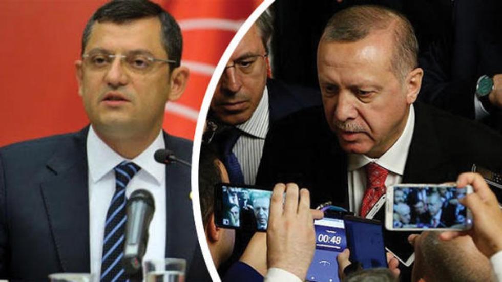 Özgür Özel: Erdoğan MİT'in kendi partisine hizmet ettiğini itiraf etmiştir