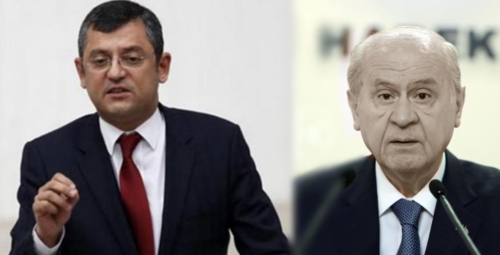 """CHP'li Özel'den MHP'ye: """"Siyasi bir vahiy geldi ittifak noktasına geldiniz"""""""