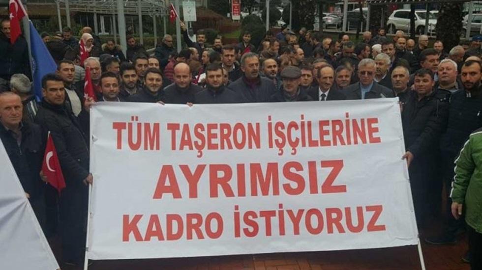 Bakan Turhan, Daimi kadroya alınan personel olmadığını açıkladı