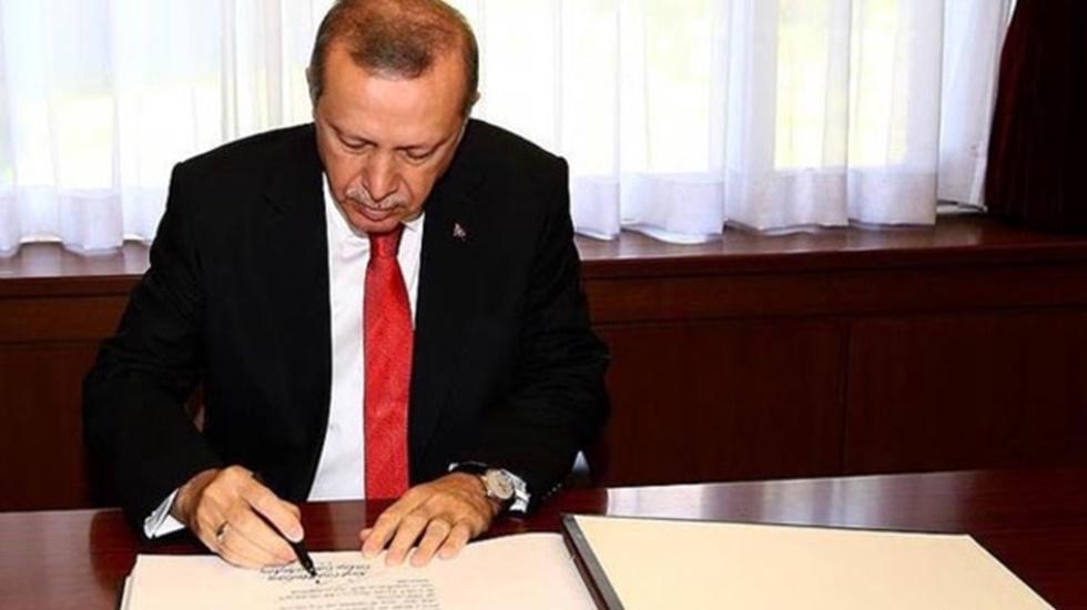 Erdoğan üç üniversiteye rektör atadı
