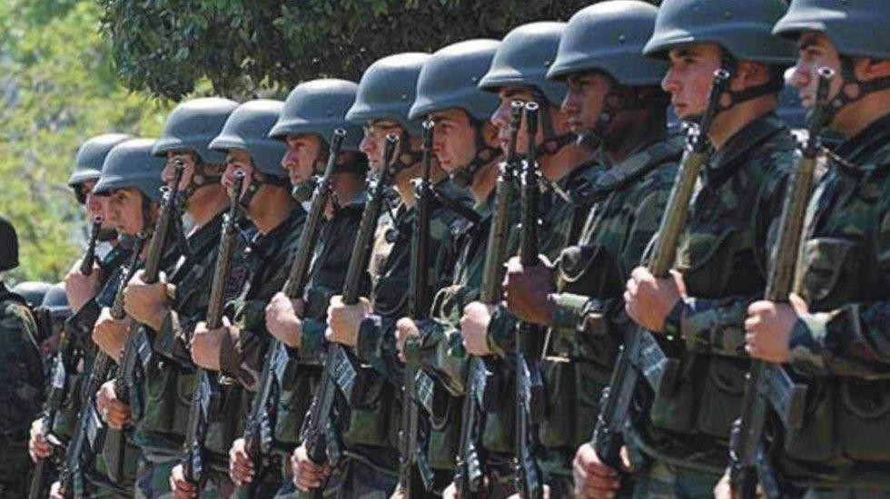 118 muvazzaf askere tutuklama