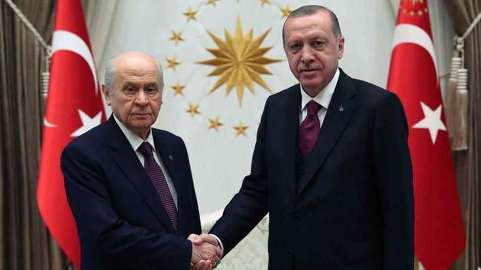 Erdoğan ve Bahçeli ortak miting!