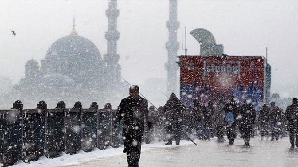 İstanbul'da kar ne zaman yağacak? Meteoroloji saat verdi...