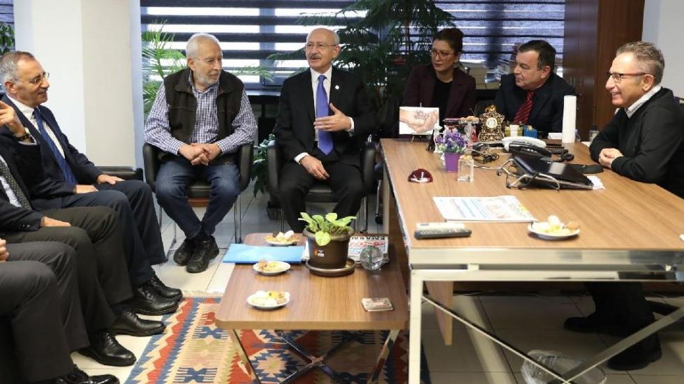 Kılıçdaroğlu'ndan Sözcü'ye ziyaret: Bu kumpas FETÖ'cüleri güçlendiren bir harekettir