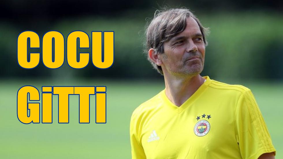 Fenerbahçe'de Phillip Cocu dönemi resmi olarak sona erdi