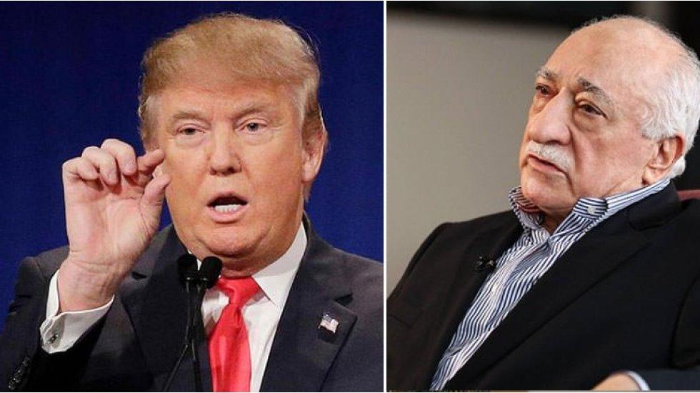Trump, Erdoğan'a Gülen'in iadesi hakkında 'bir bakacağım' demiş