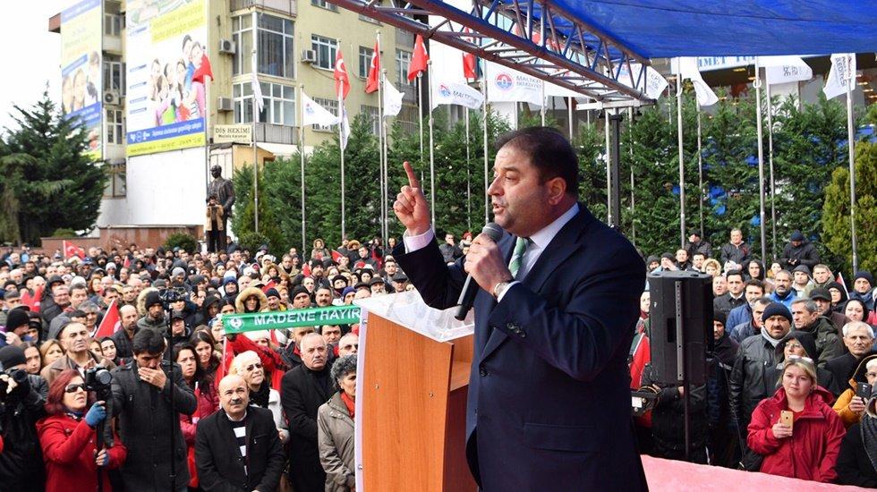 Başkan Kılıç: 'Onlarla yargıda hesaplaşacağız'
