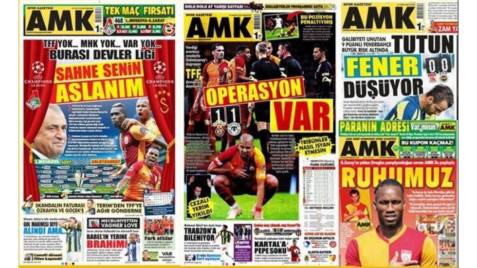 Galatasaray yanlısı AMK gazetesi kapatıldı