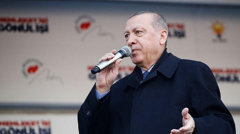Erdoğan: Tunç Soyer'in babası tam bir zalimdir