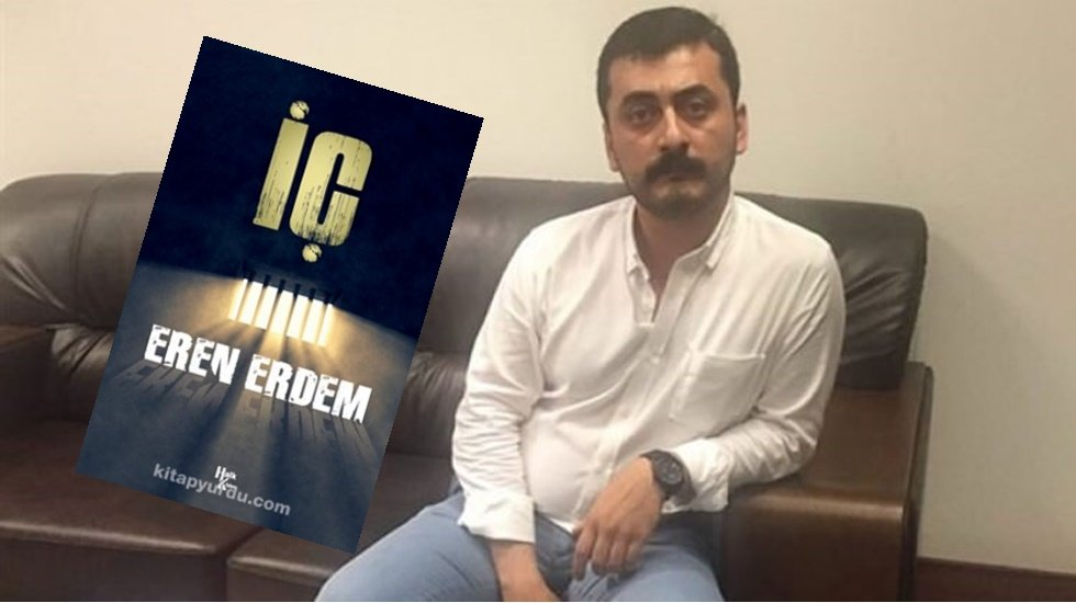 Eren Erdem'in kendi yazdığı kitap kendine verilmedi