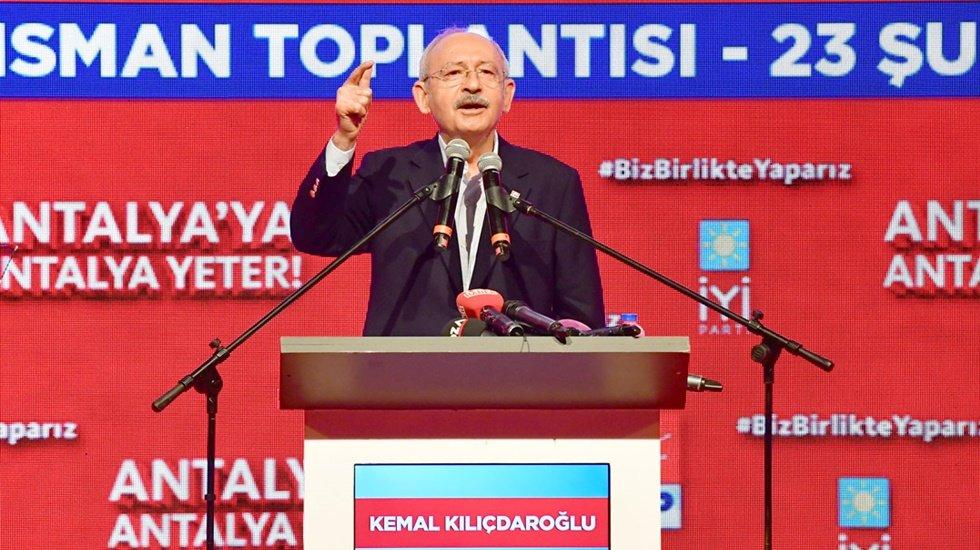 Kılıçdaroğlu'ndan Erdoğan'a: O tablo Türkiye gerçeğidir