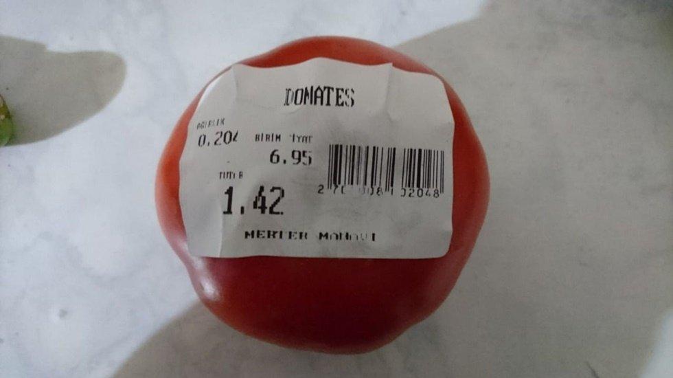 Bir patlıcan 2.30, bir domates 1,5, bir biber bir lira...