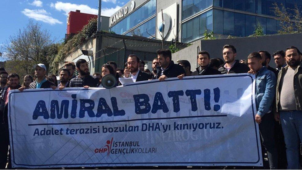 CHP'den Demirören'e tepki: Amiral battı