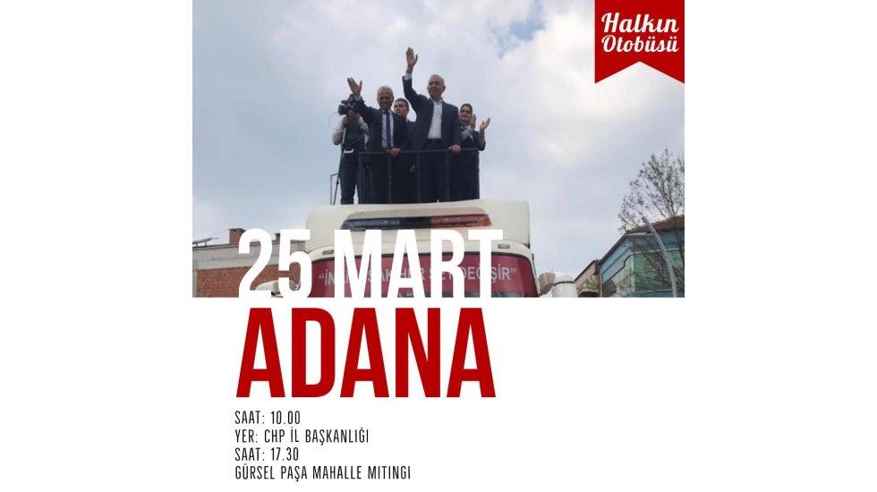 Gürsel Tekin'in Adana da