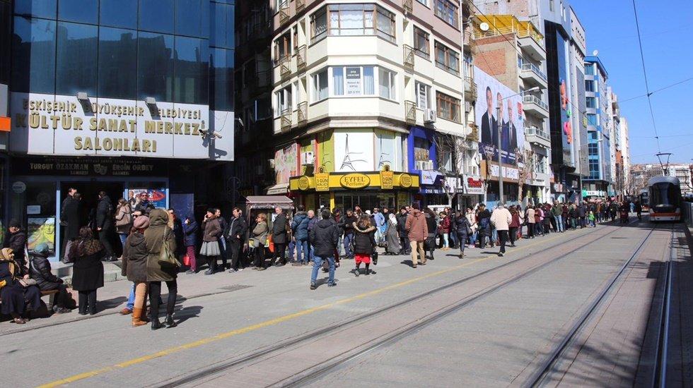 Türkiye'yi sevindiren o kuyruk bakın ne çıktı