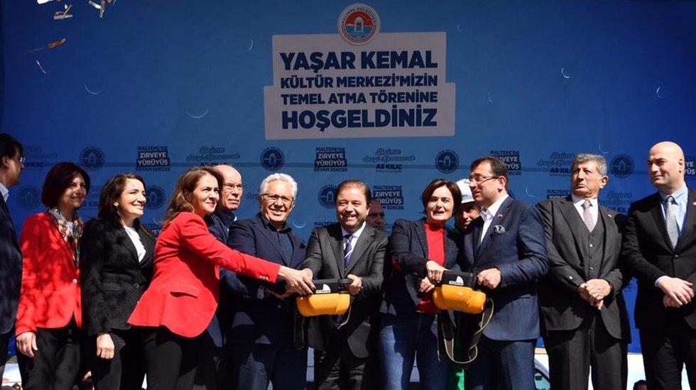 Yaşar Kemal'in adı Maltepe'de yaşayacak