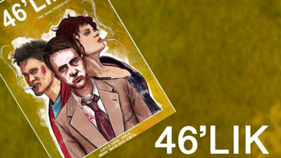 46'lık dergi, 4. sayısıyla bayilerde