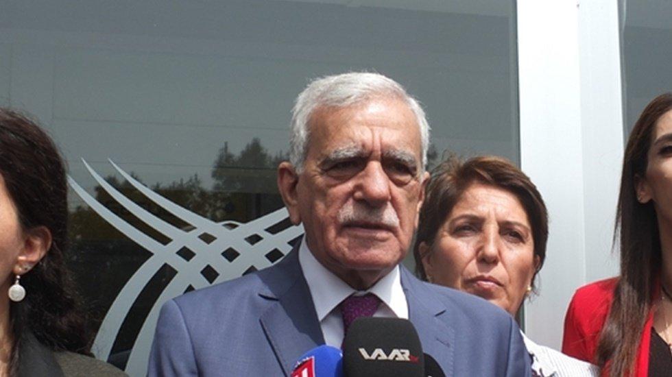 Ahmet Türk: Karşımıza aklın kabul etmeyeceği 620 milyon borç çıktı