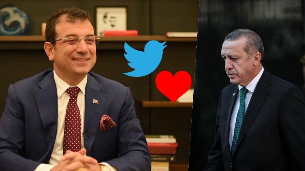 İmamoğlu'ndan Erdoğan'a beğeni jesti