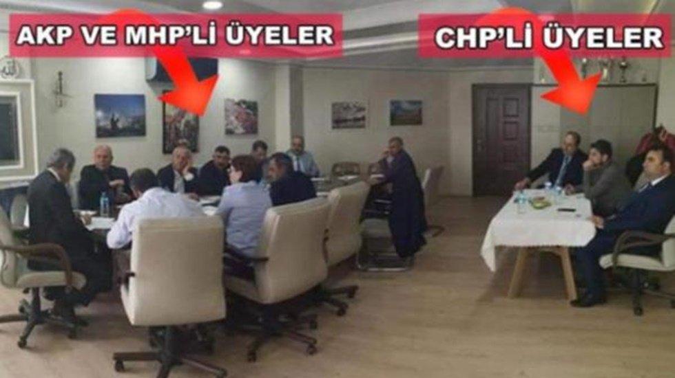 Marmara Adalar Belediye Meclisi'nde CHP'li meclis üyeleri rencide amaçlı dışlandı