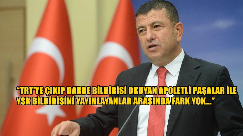 """Ağbaba: """"Çalınan Tek Şey İmamoğlu'nun Mazbatasıdır"""""""