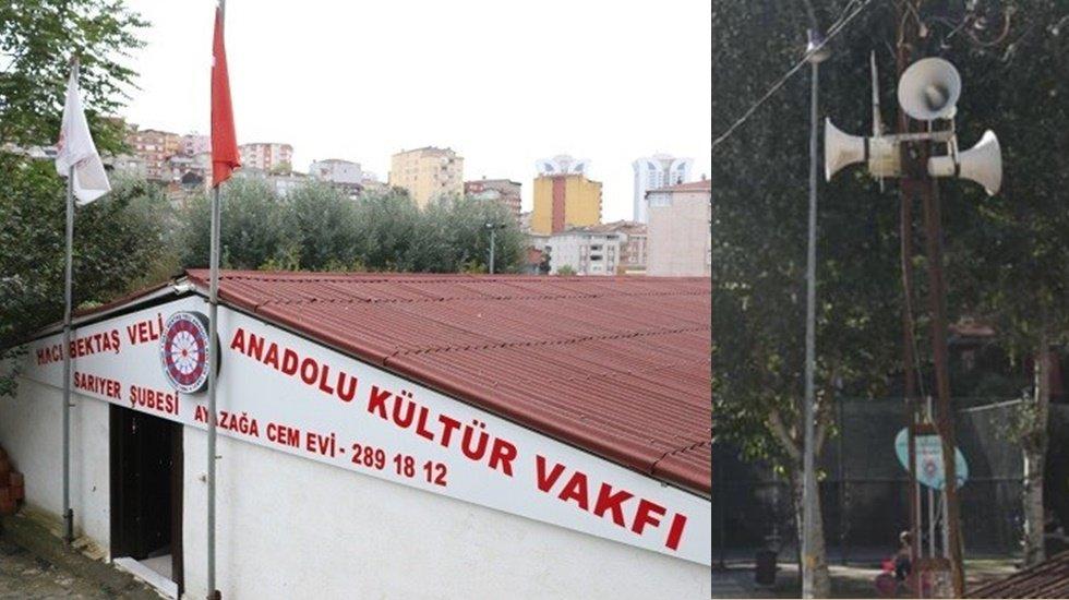 """Ali Kenanoğlu: """"Ayazağa Cemevi Girişindeki Korsan Hoparlörler Kaldırılsın"""""""