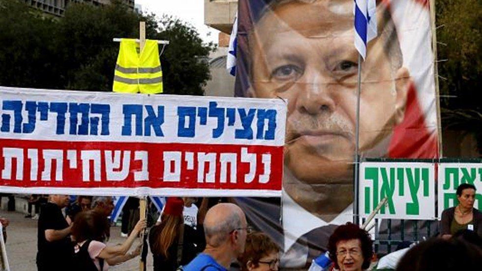 """Binyamin Netanyahu'ya """"Erdoğan olmana izin vermeyeceğiz"""""""