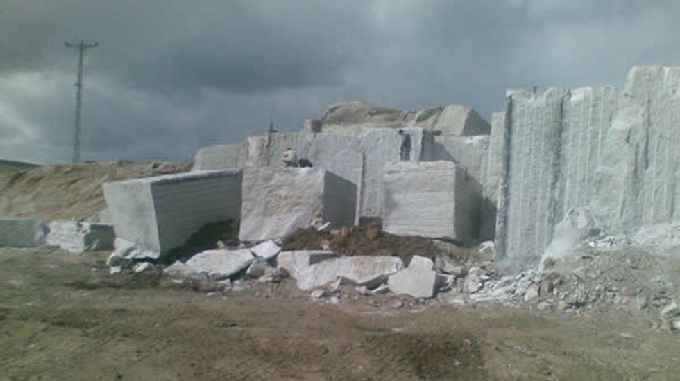 HDP'li Kenanoğlu, Kurulması planlanan granit ocağını meclise taşıdı