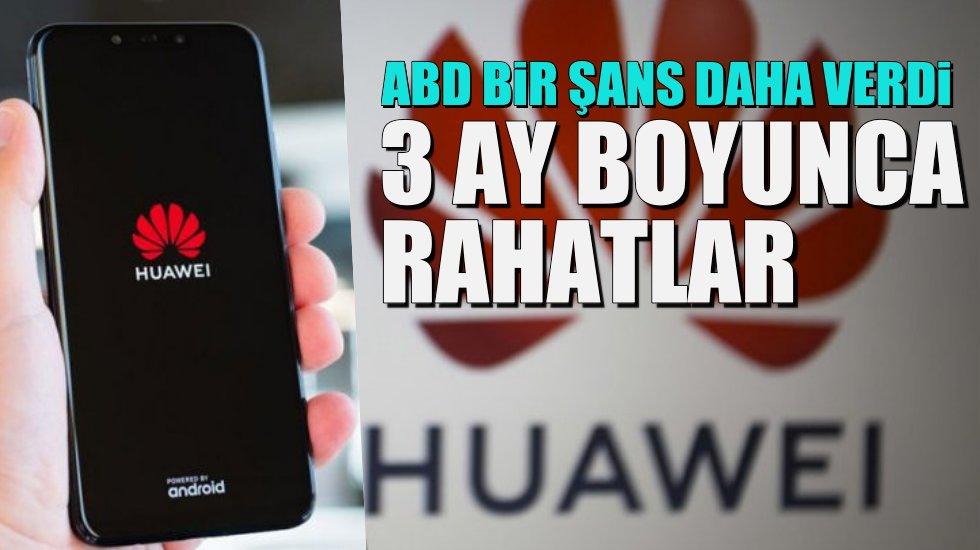 Huawei'ye müjde: 3 ay daha Android kısıtlaması yok