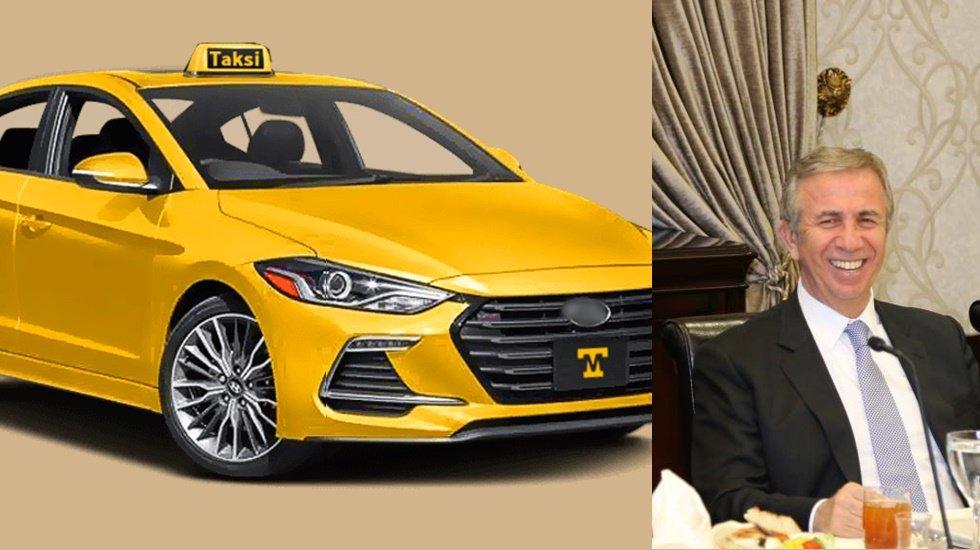 Mansur Yavaş'tan taksicileri sevindiren müjde