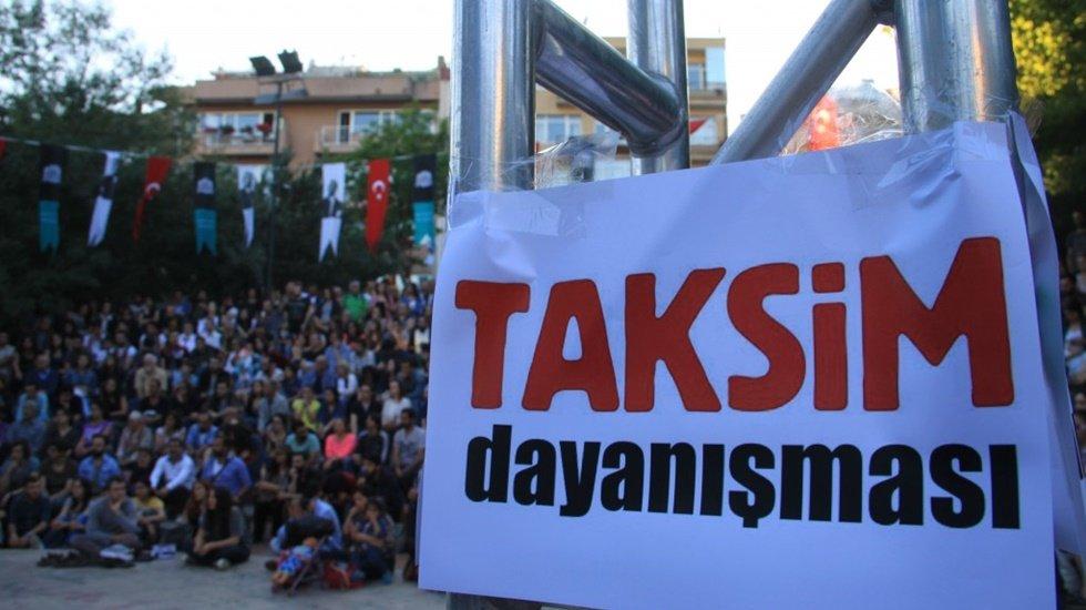Taksim dayanışması: 'Karanlık gider Gezi kalır'