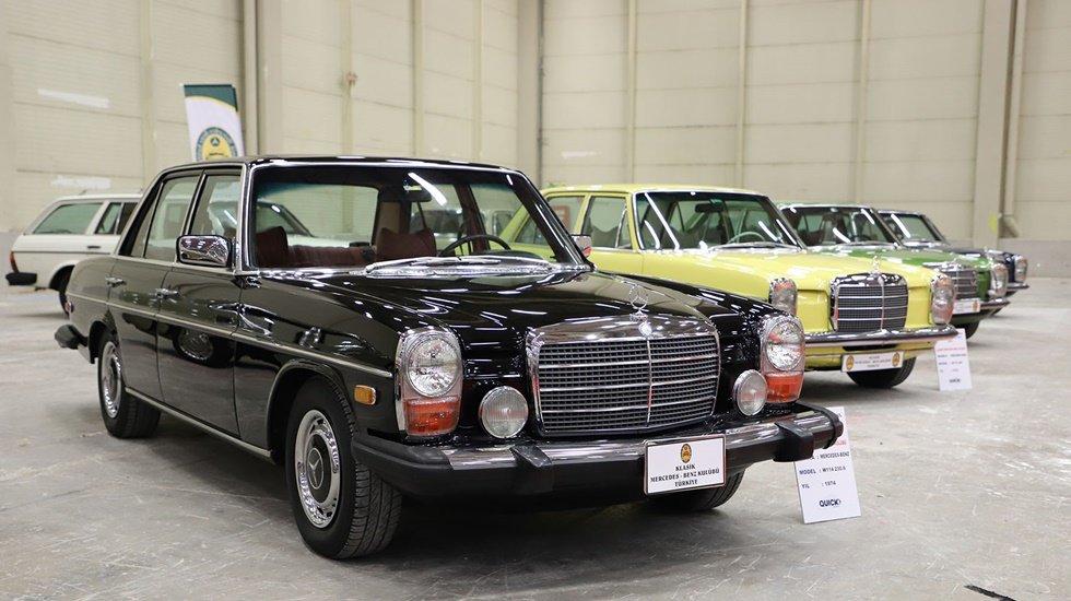 600 klasik araç Büyükçekmece'de buluştu
