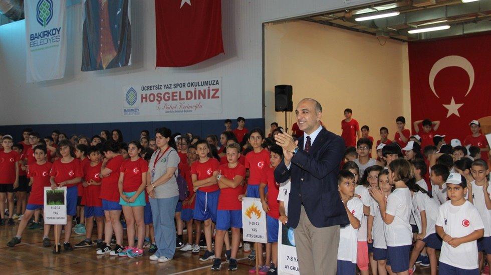 Bakırköy Belediyesi Ücretsiz Yaz Spor Okulları Açıldı