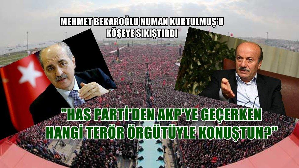 """CHP'li Bekaroğlu'ndan, AKP'li Kurtulmuş'a: """"Neler konuştuğunuzu açıklarım"""""""