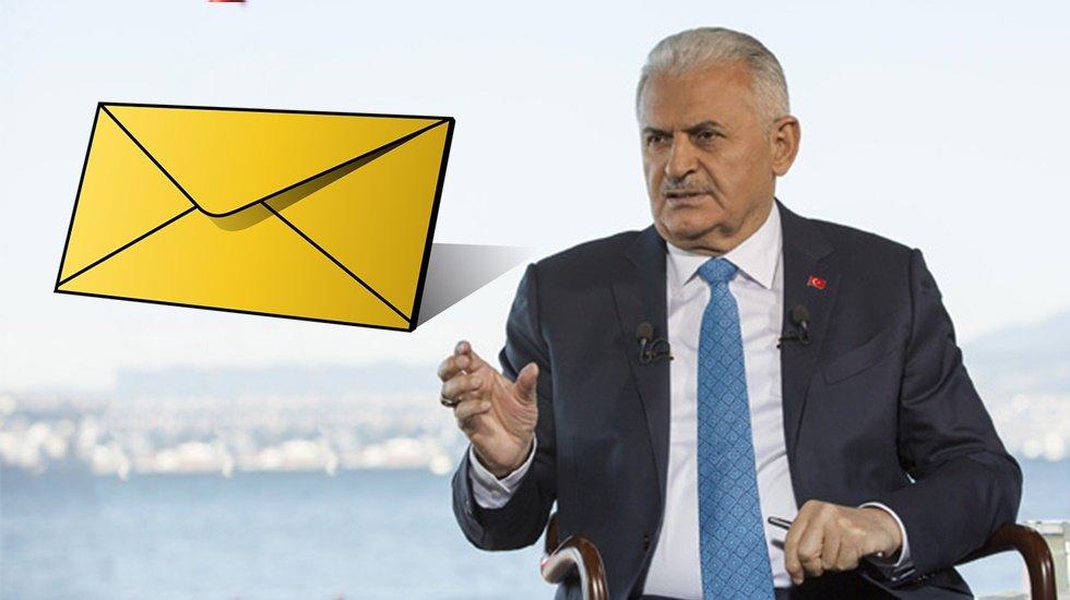 CHP sordu: Binali Yıldırım'ın 10 milyon kişiye gönderdiği mektubun parasını kim ödedi?