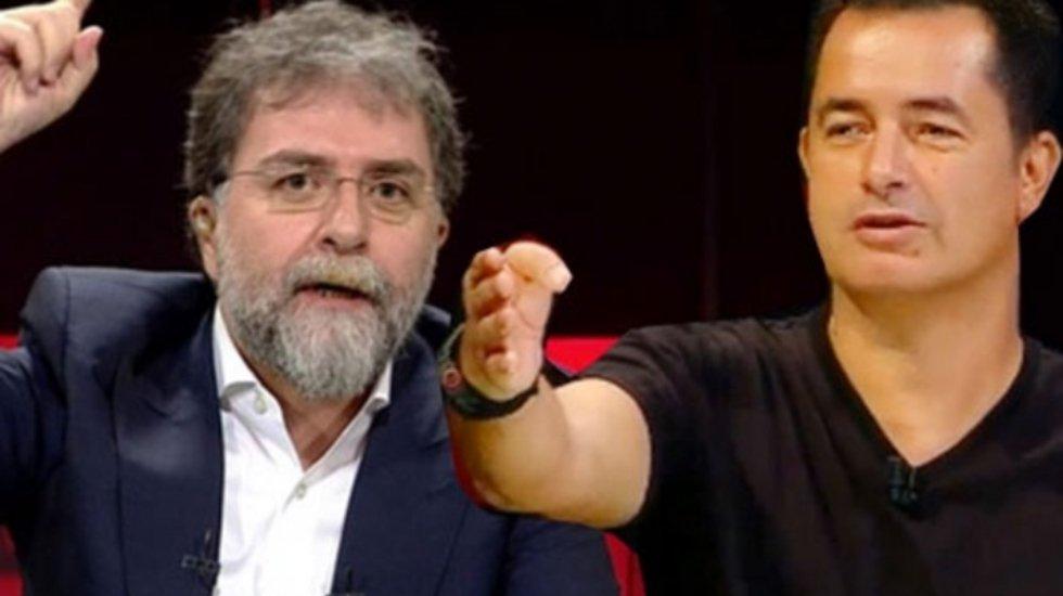 """Ahmet Hakan, Acun'dan fena bir dayak yemiş"""
