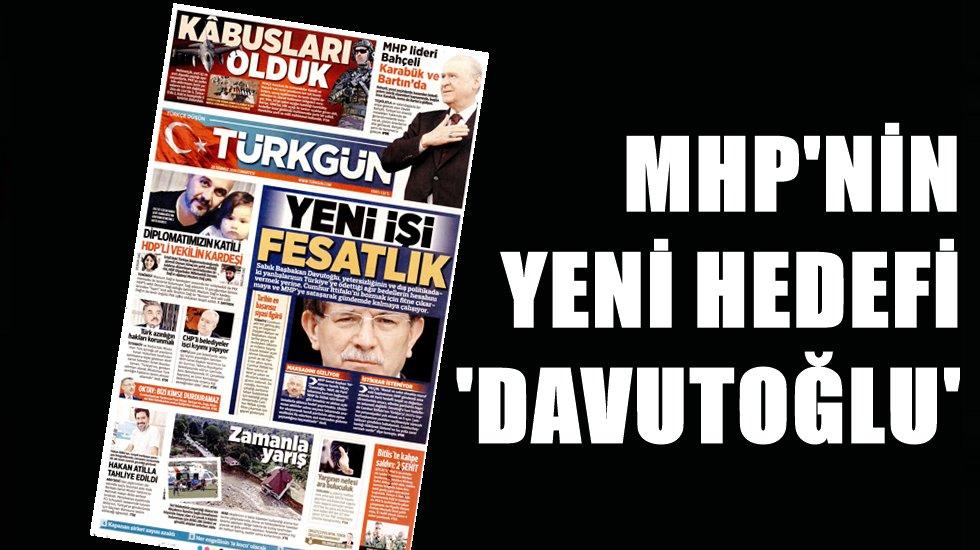 MHP'nin hedefindeki isim 'Ahmet Davutoğlu'