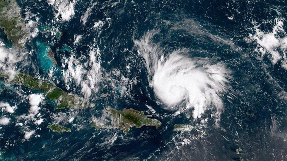 ABD'de Dorian Kasırgası sonucu yüzlerce kişi mahsur kalmış olabilir'