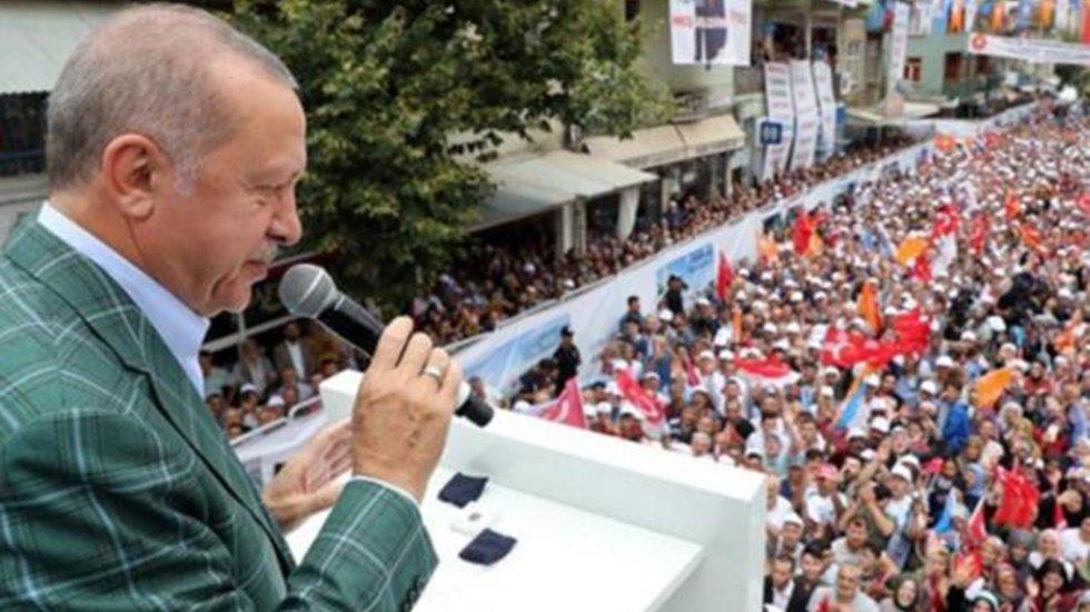 Erdoğan'dan İmamoğlu'na: Daha dün bir bugün iki!