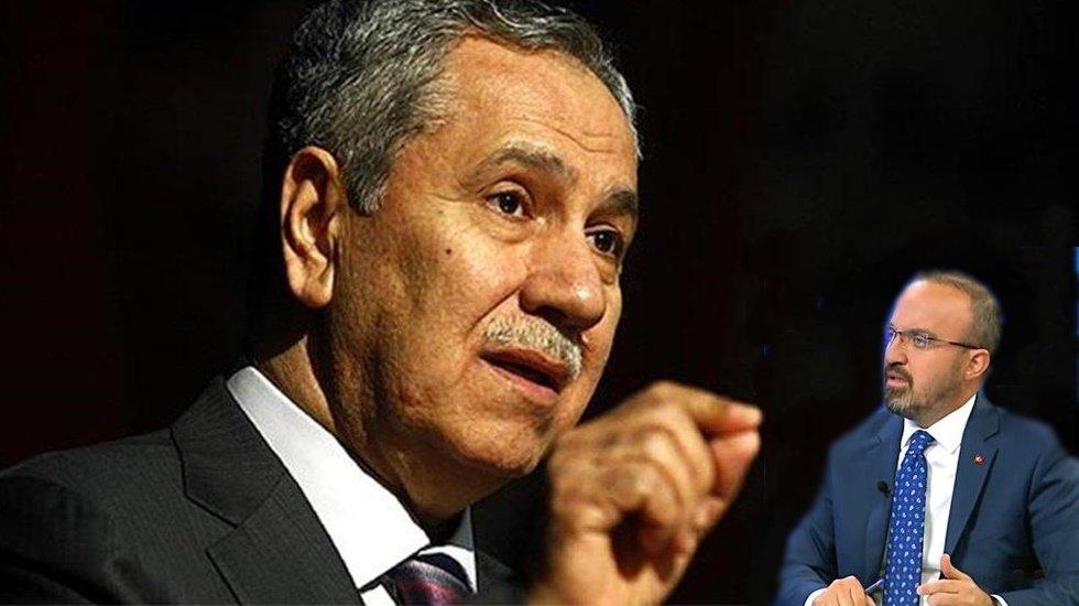 """Arınç'tan AKP Grup Başkanvekili Turan'a: """"Boyundan büyük işlere karışma"""""""