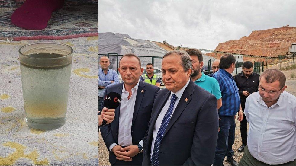 """CHP'li Torun: """"Madene yakın köylülerin suyu çamur akıyor"""""""