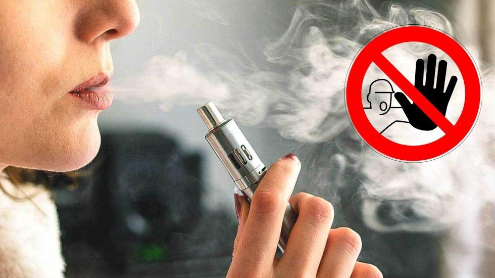 Elektronik sigaraya ilk yasak yolda…