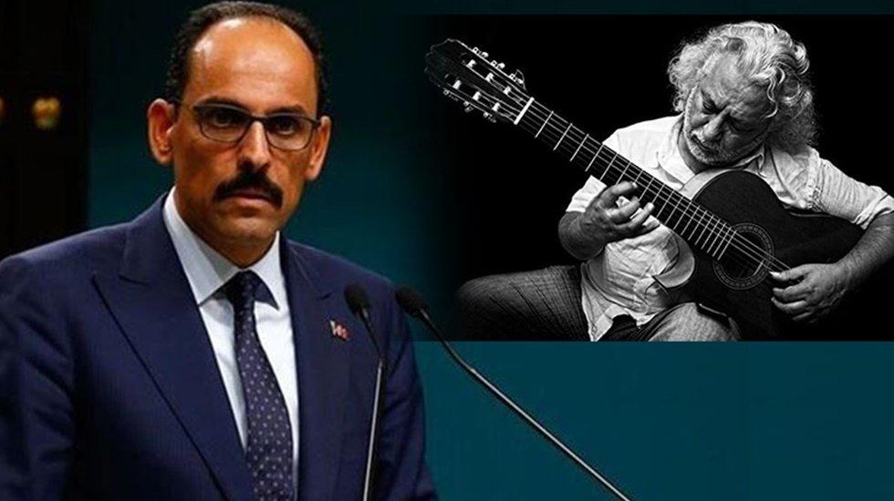 """İbrahim Kalın'dan 'Erkan Oğur' açıklaması: """"Sözü yormadan…"""" - Yeni Soluk"""